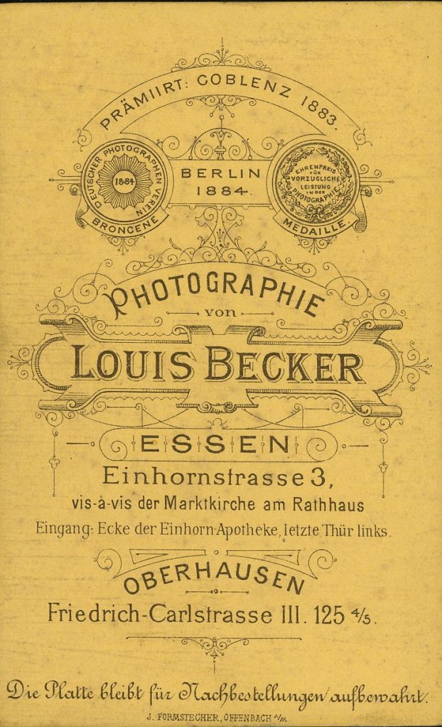 Louis Becker - Essen - Oberhausen