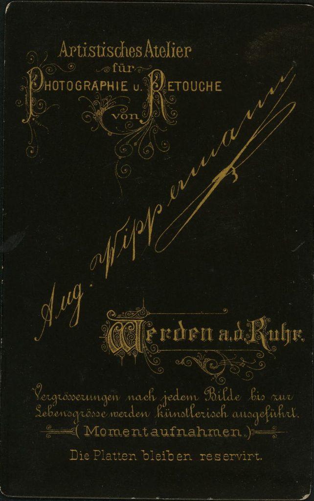 Aug. Wippermann - Werden