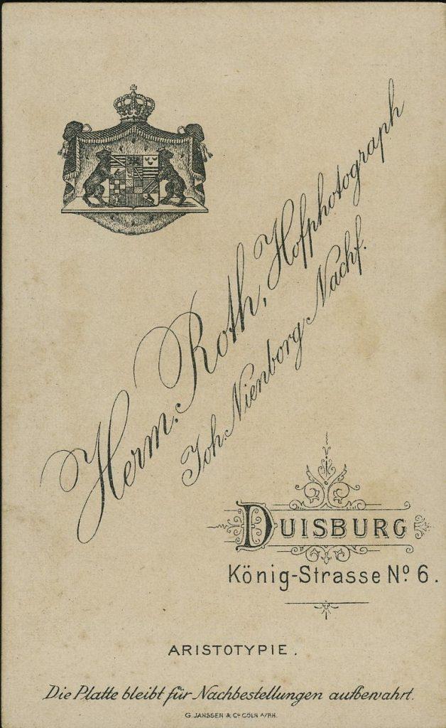 Herm. Roth - Joh. Nienborg - Duisburg