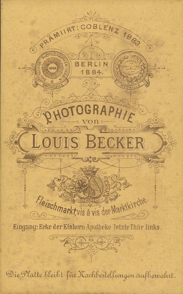 Louis Becker - Essen