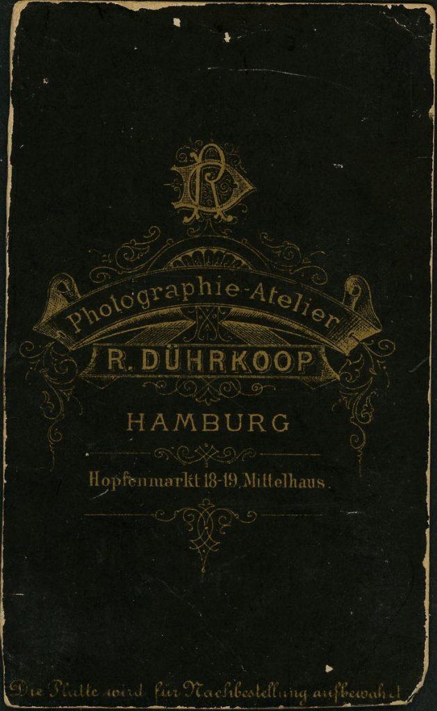 R. Dührkoop - Hamburg