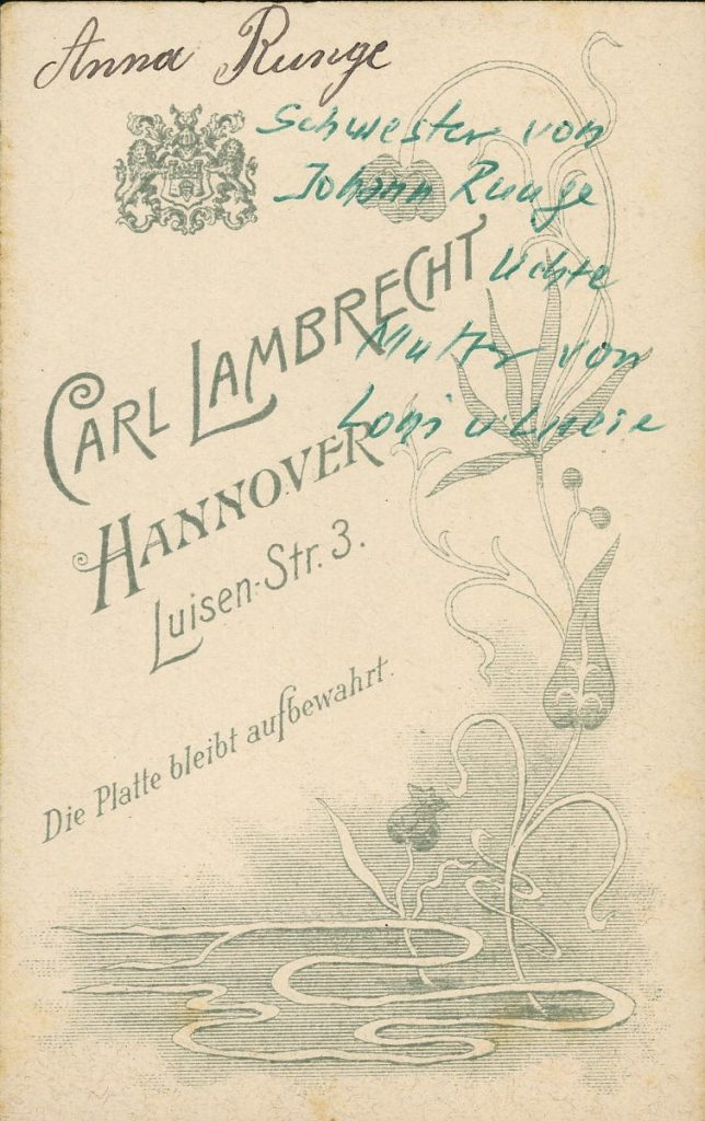 Carl Lambrecht - Hannover