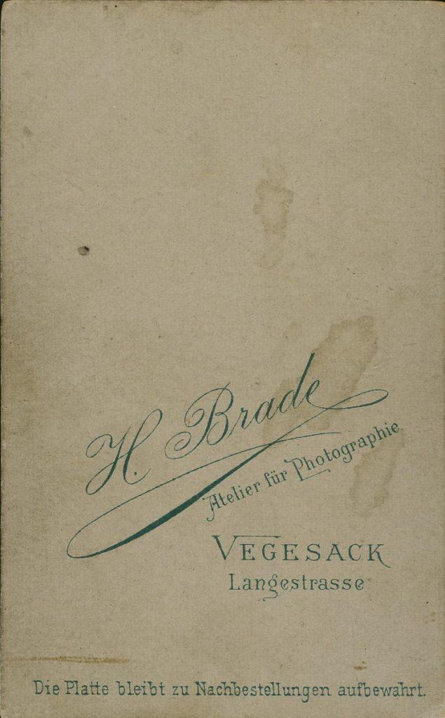 H. Brade - Vegesack