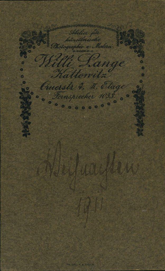 Willi Lange - Kattowitz