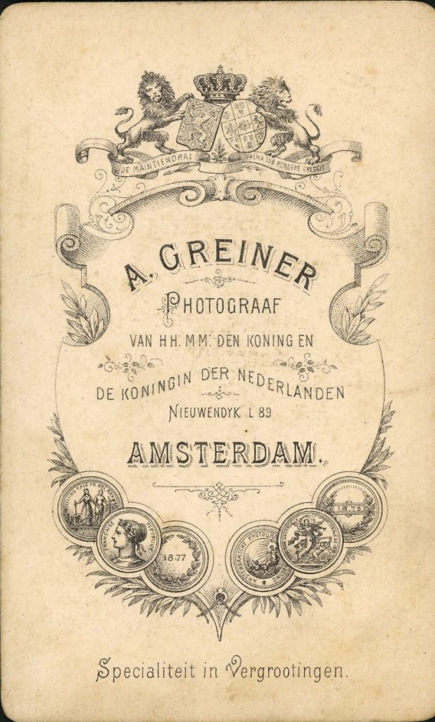 A. Greiner - Amstersdam