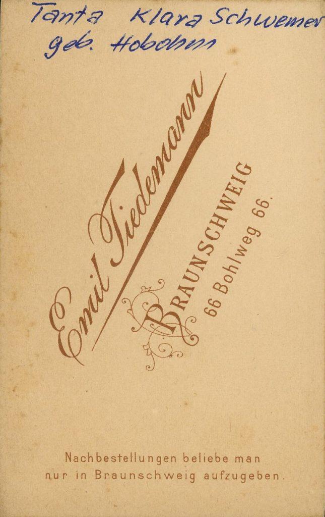 Emil Tiedemann - Braunschweig