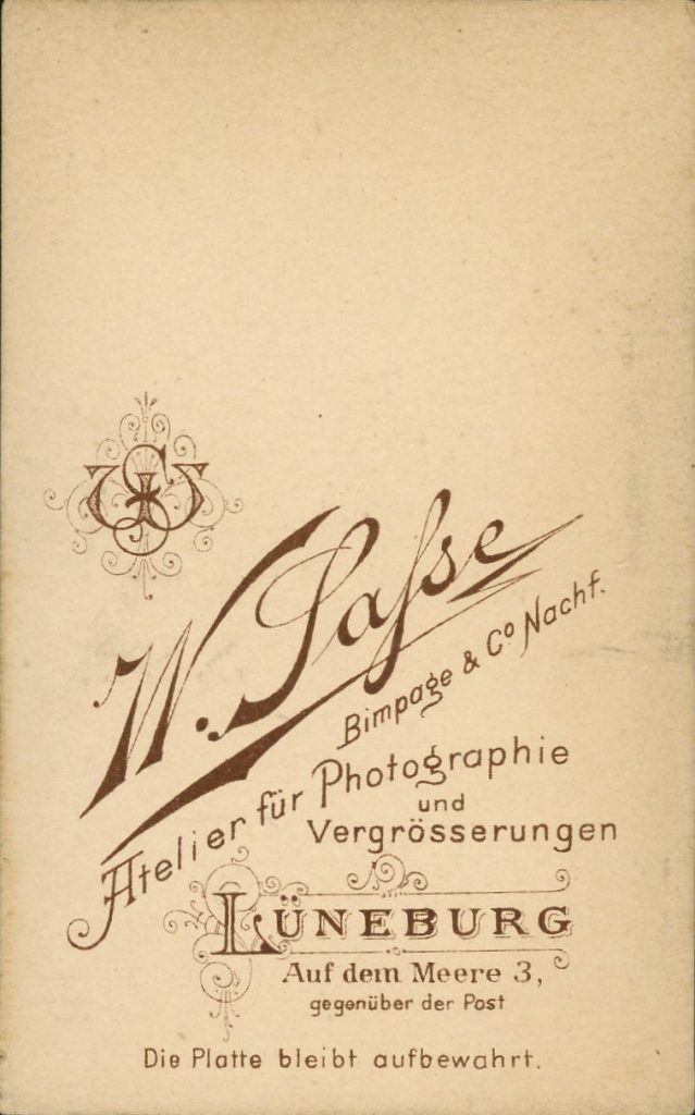 W. Sasse - Lüneburg