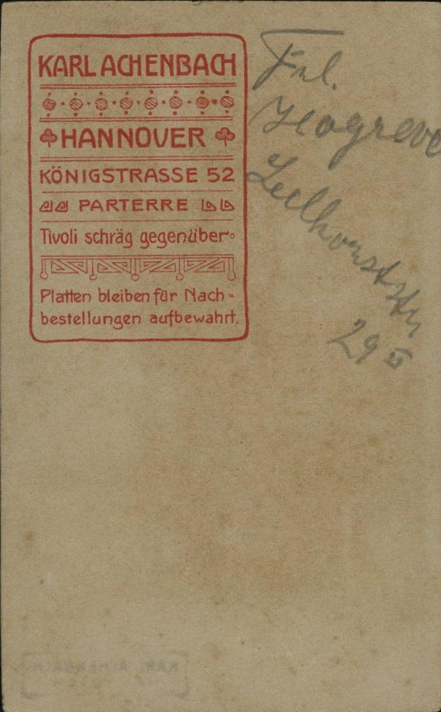 Karl Achenbach - Hannover