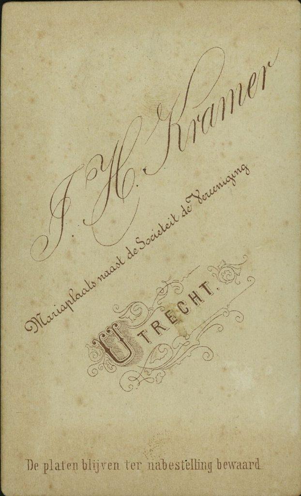 J. H. Kramer - Utrecht