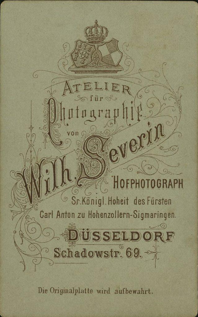 Wilh. Severin - Düsseldorf