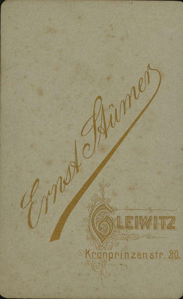 Ernst Stümer - Gleiwitz