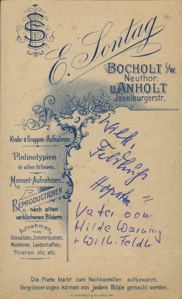 E. Sontag - Bocholt i.W. - Anholt