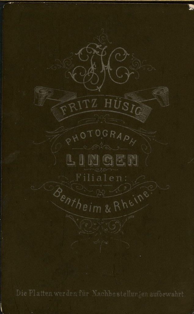 Fritz Hüsig - Lingen - Bentheim - Rheine