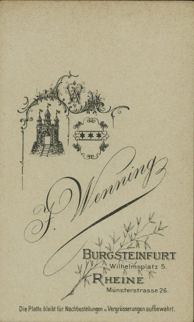 J. Wenning - Burgsteinfurt - Rheine