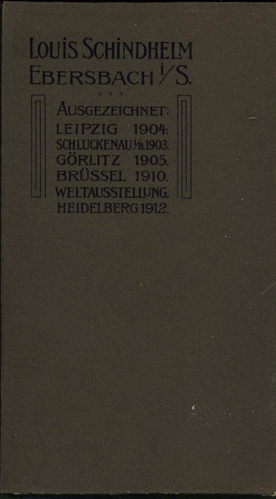 Louis Schindheim - Ebersbach