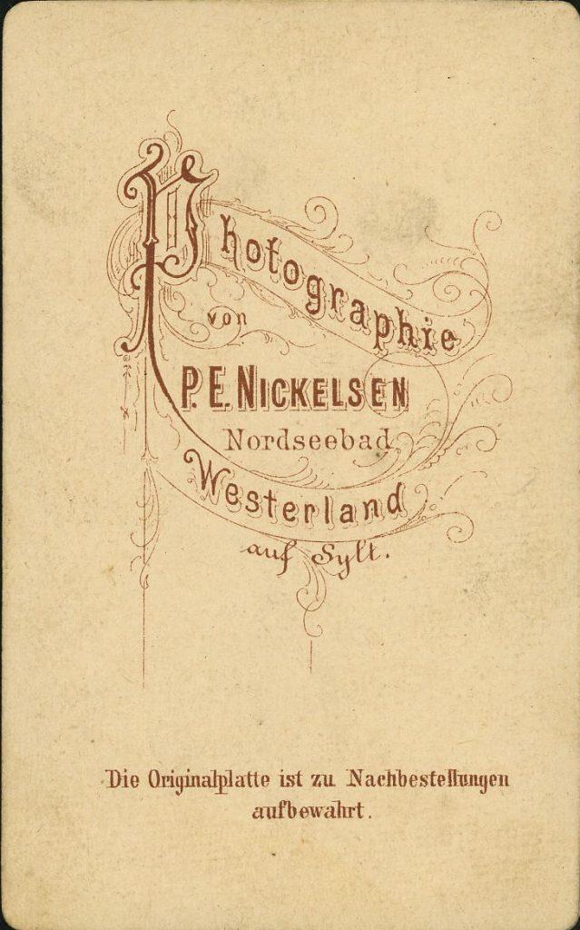 P. E. Nickelsen - Westerland - Sylt
