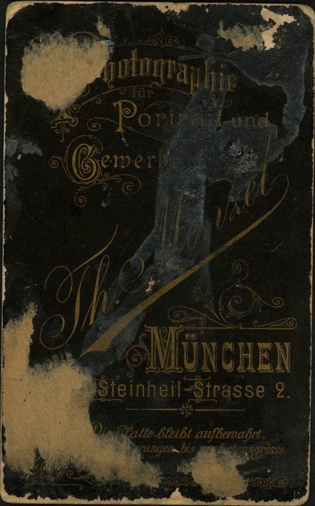 Th. Menzel - München