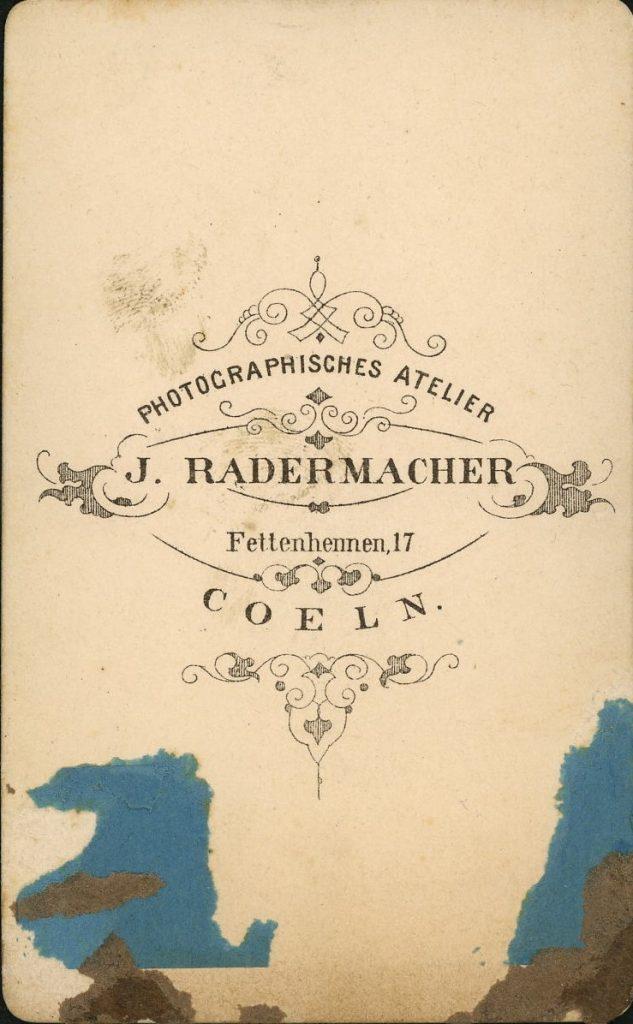 J. Radermacher - Coeln