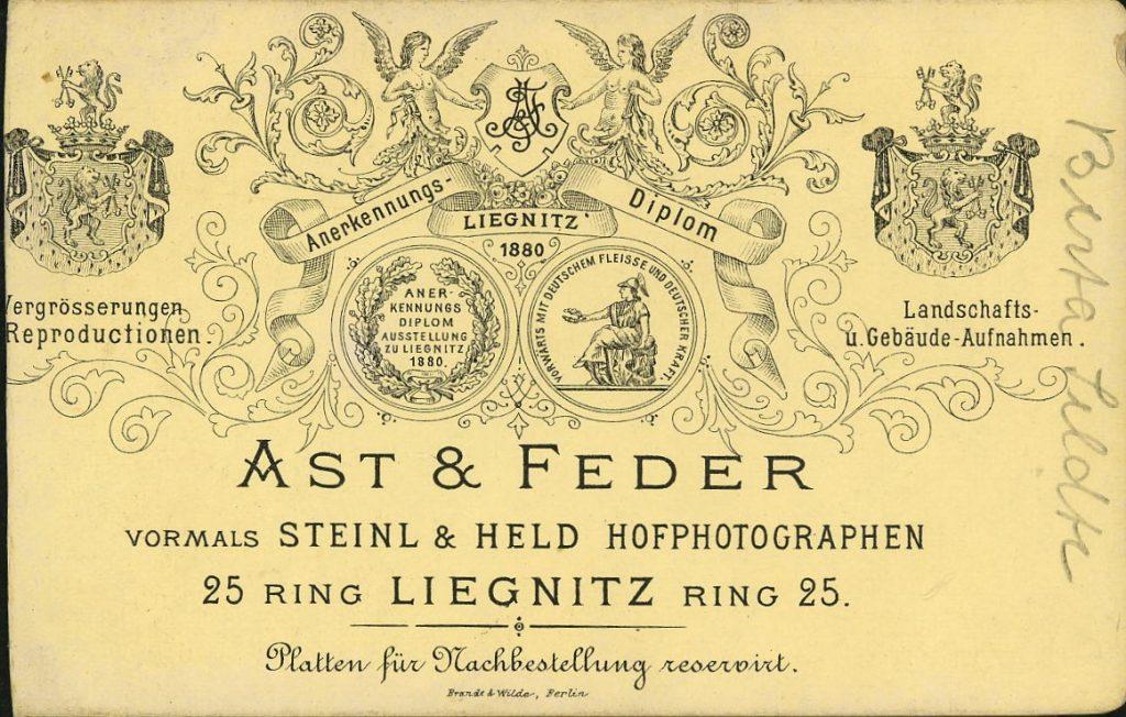 Ast - Feder - Steinl - Held - Liegnitzu
