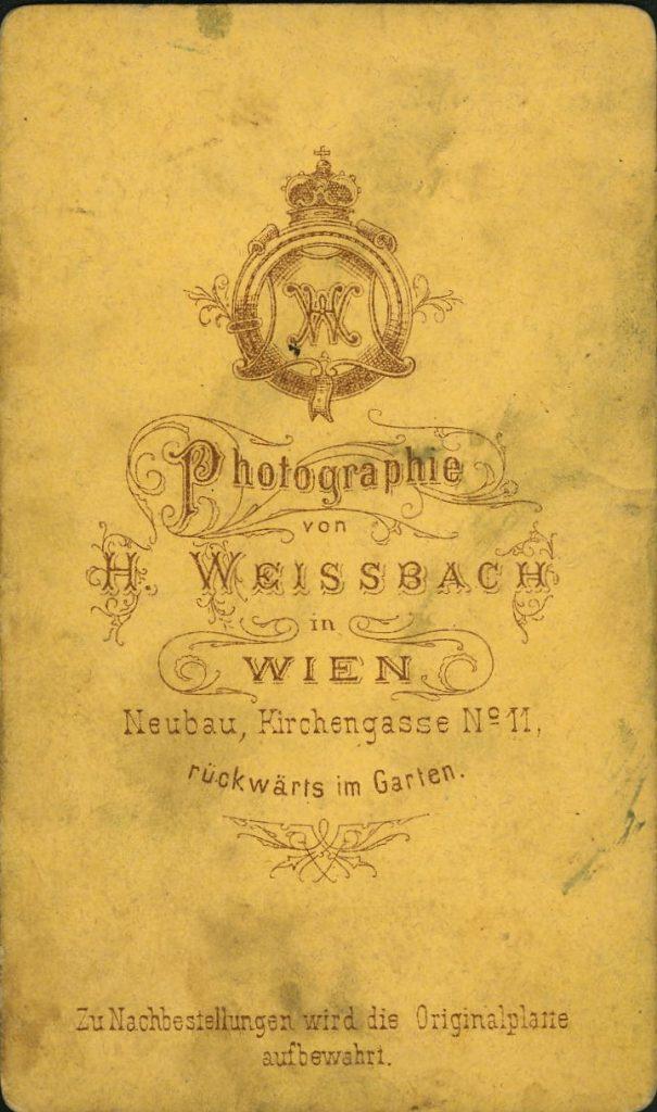 H. Weissbach - Wien