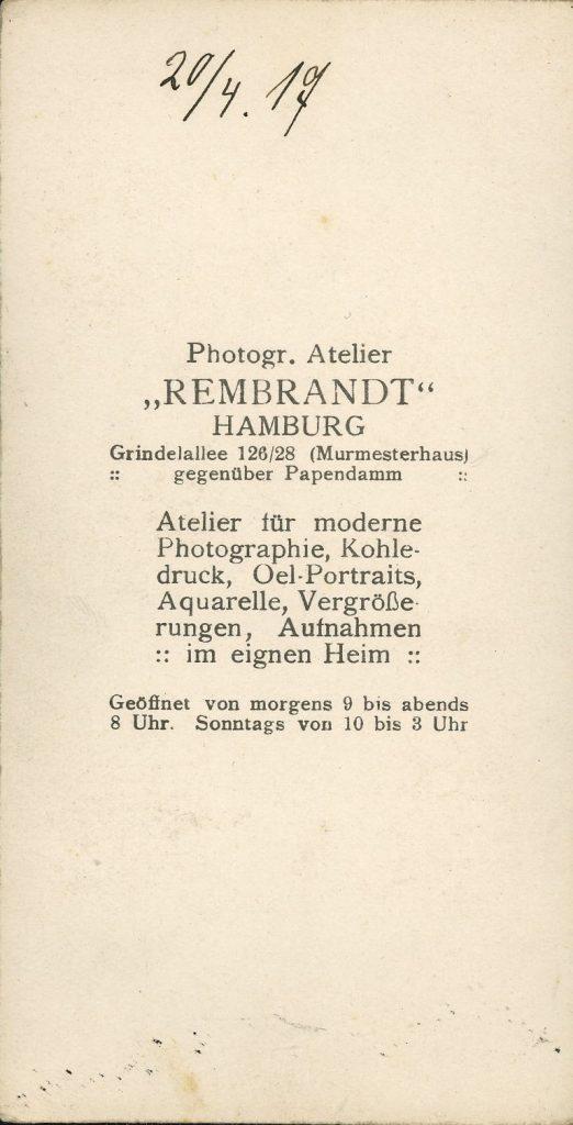 Rembrandt - Hamburg