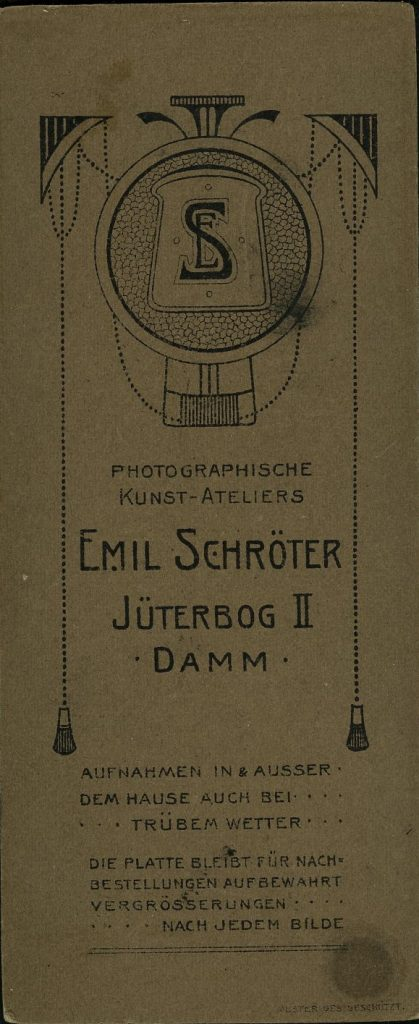 Emil Schrötter - Jüterbog-Damm