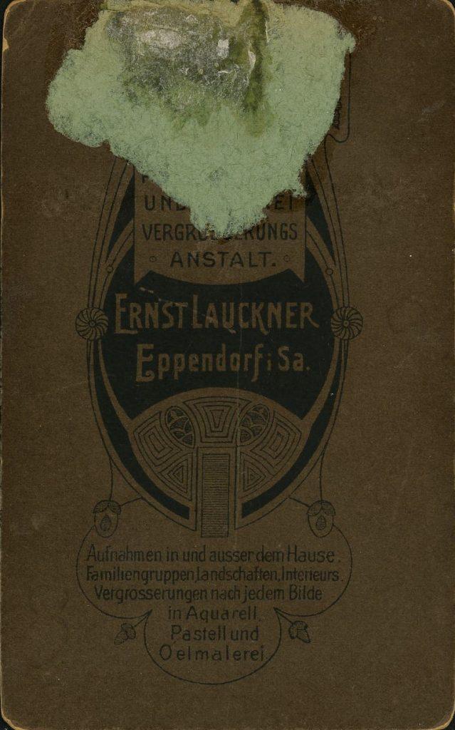 Ernst Lauckner - Eppendorf i.Sa