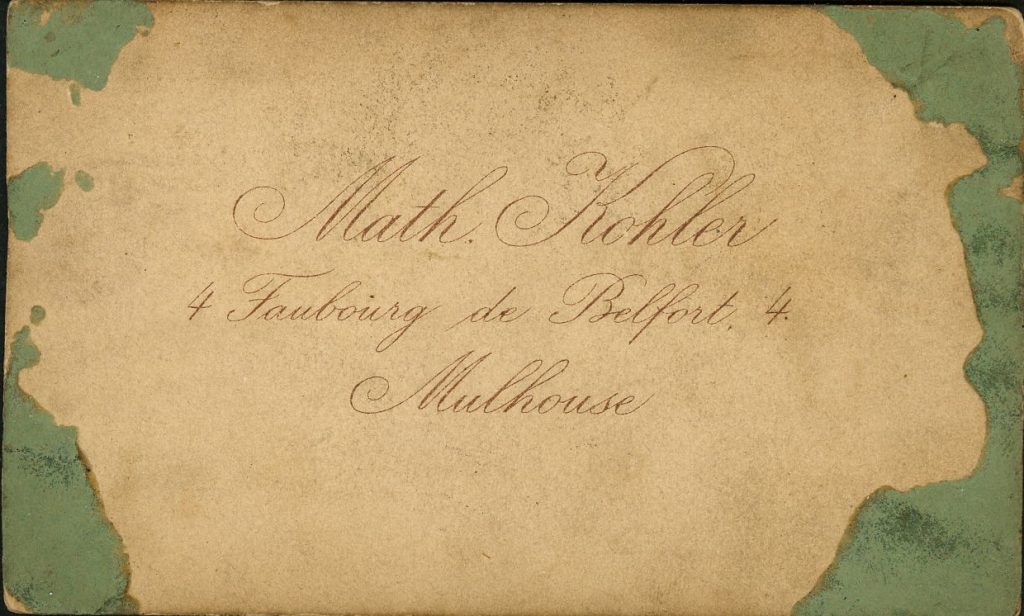 Math. Kohler - Mulhouse