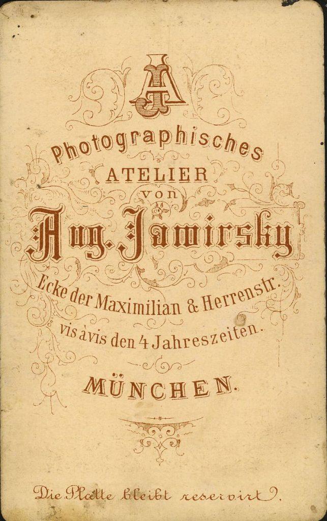 Aug. Jawirsky - München