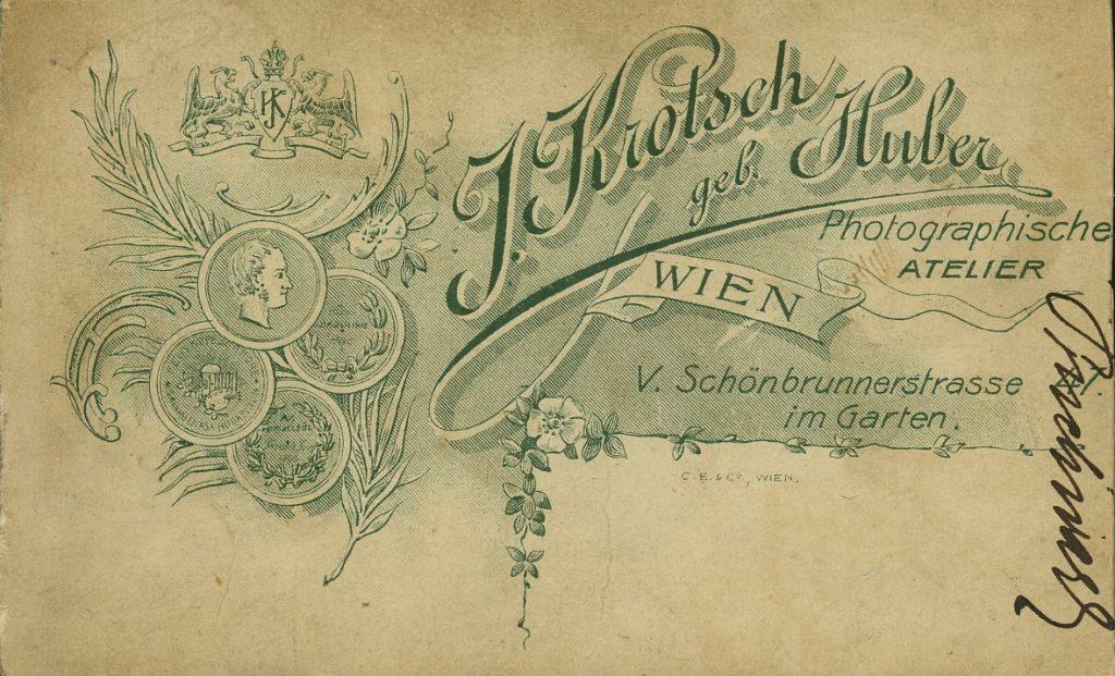 J. Kritsch - J. Huber - Wien