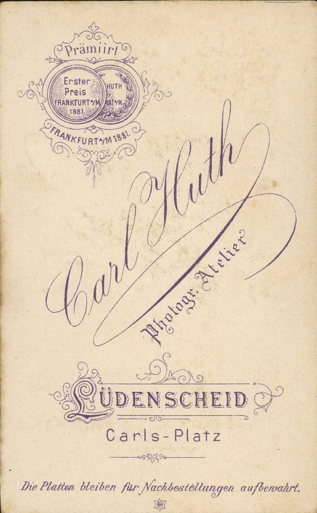 Carl Huth - Lüdenscheid