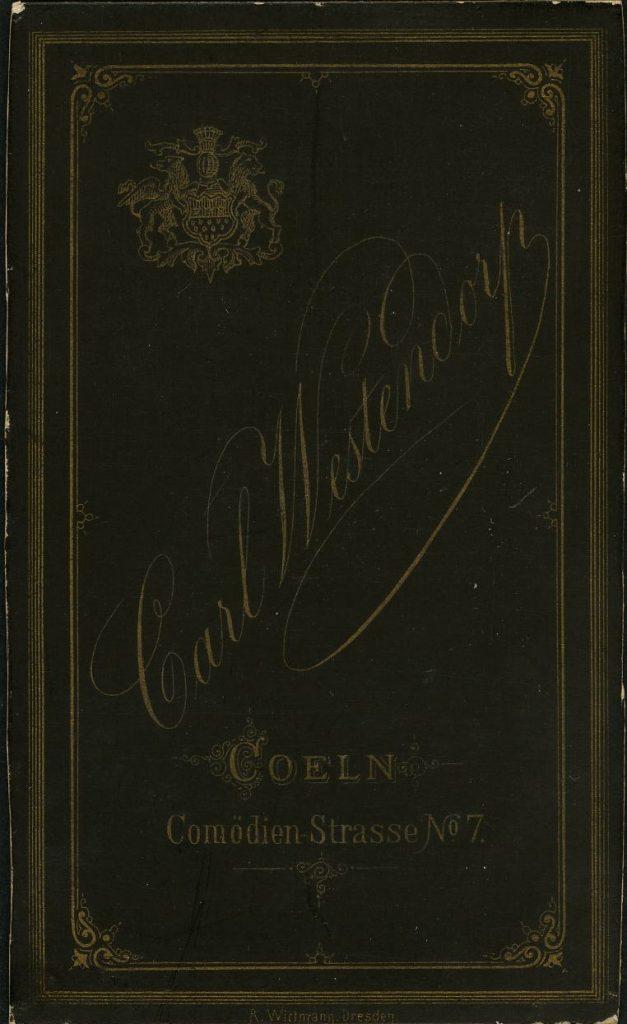 Carl Westendorp - Coeln