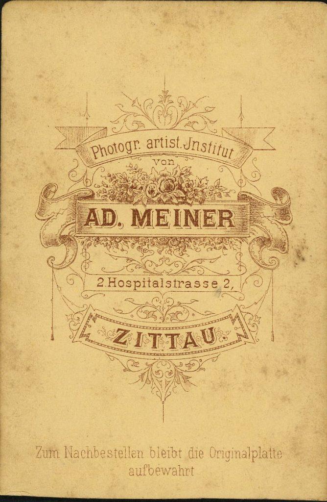 Ad. Meiner - Zittau