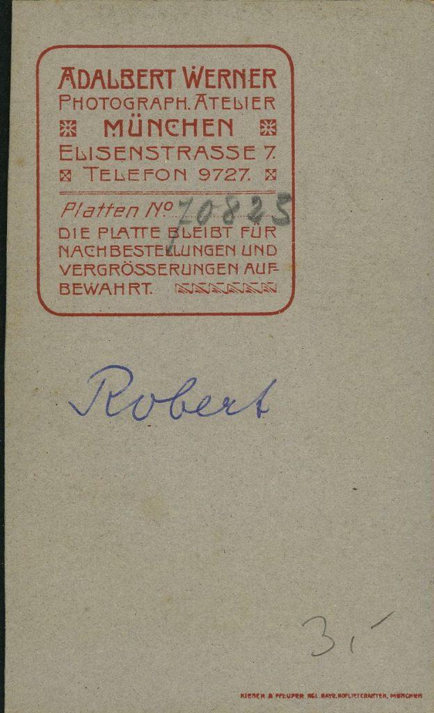 Adalbert Werner - München