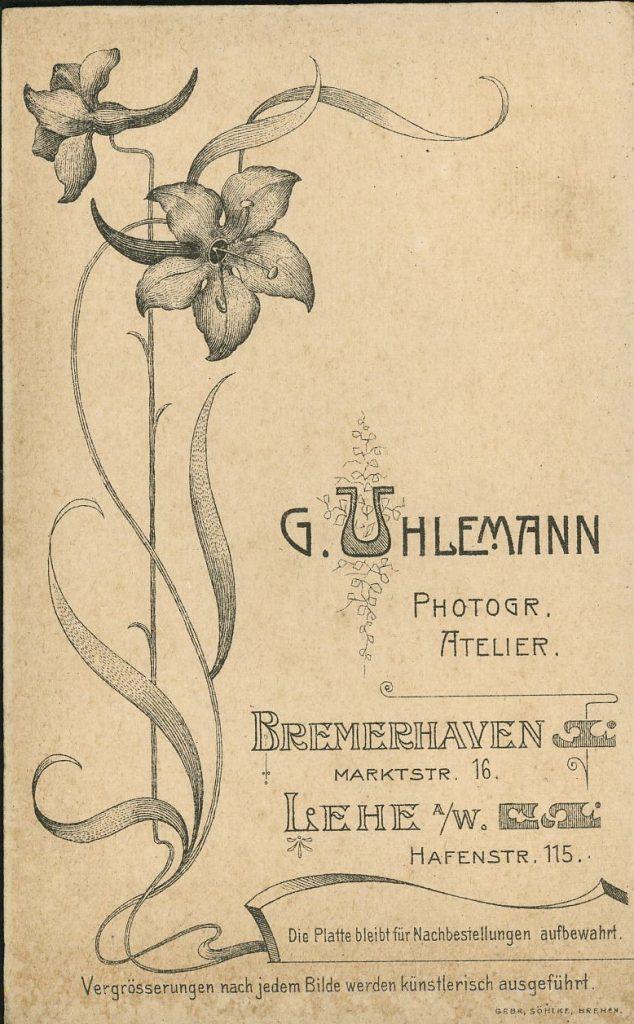 G. Uhlemann - Bremerhaven - Lehe