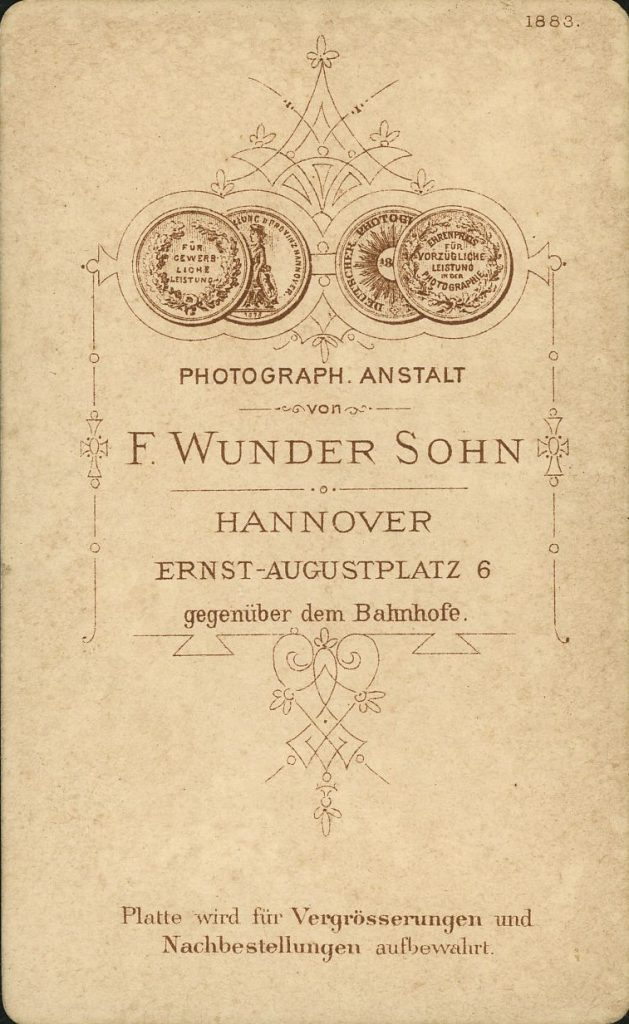 F. Wunder Sohn - Hannover