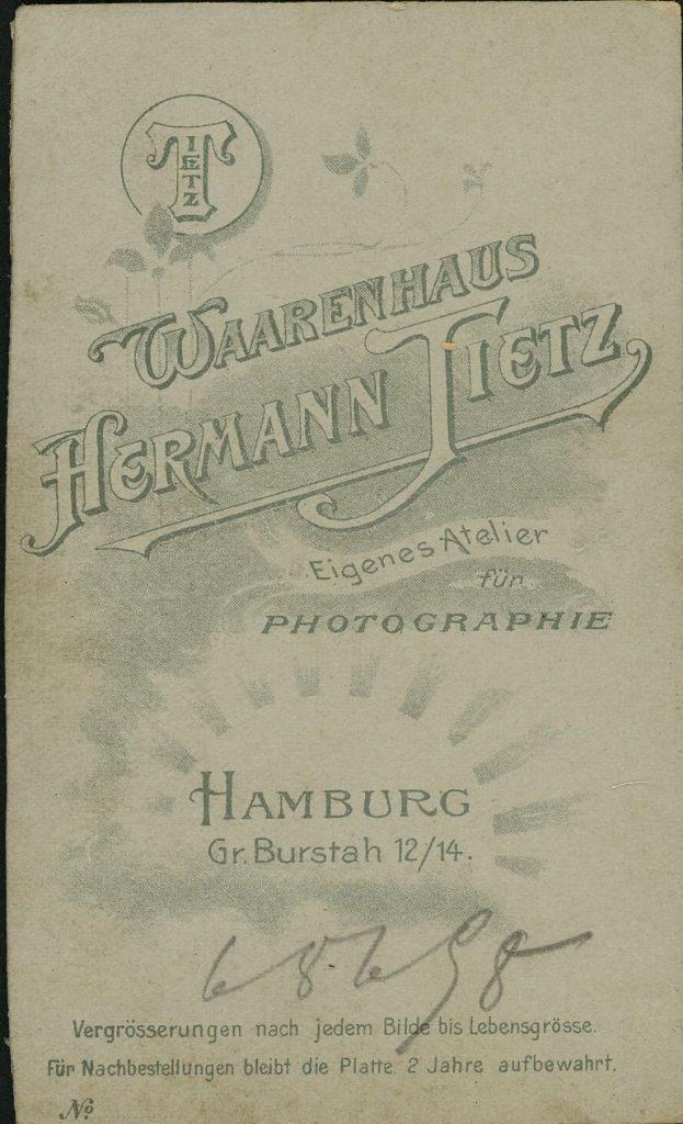 Hermann Tietz - Hamburg