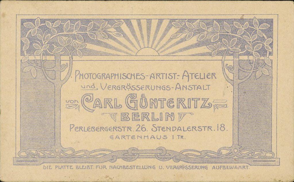 Carl Günteritz - Berlin