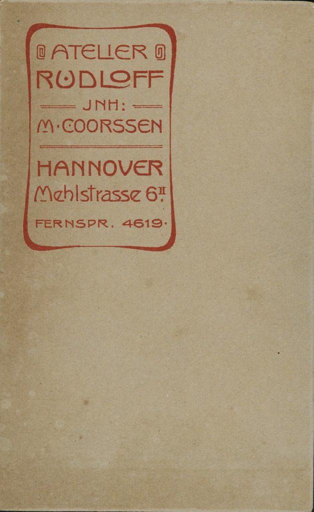 Rudloff - M. Coorssen - Hannover