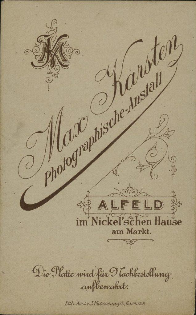Max Karsten - Alfeld