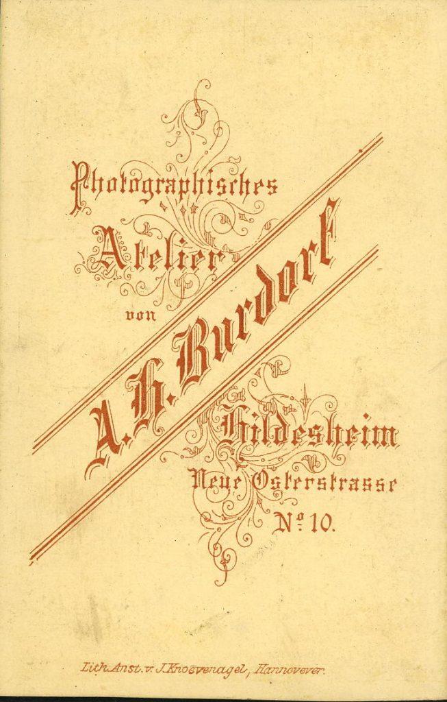 A. H. Burdorf - Hildesheim