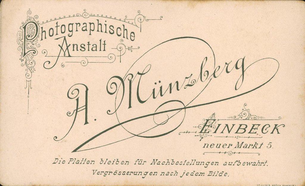 A. Münzberg - Einbeck