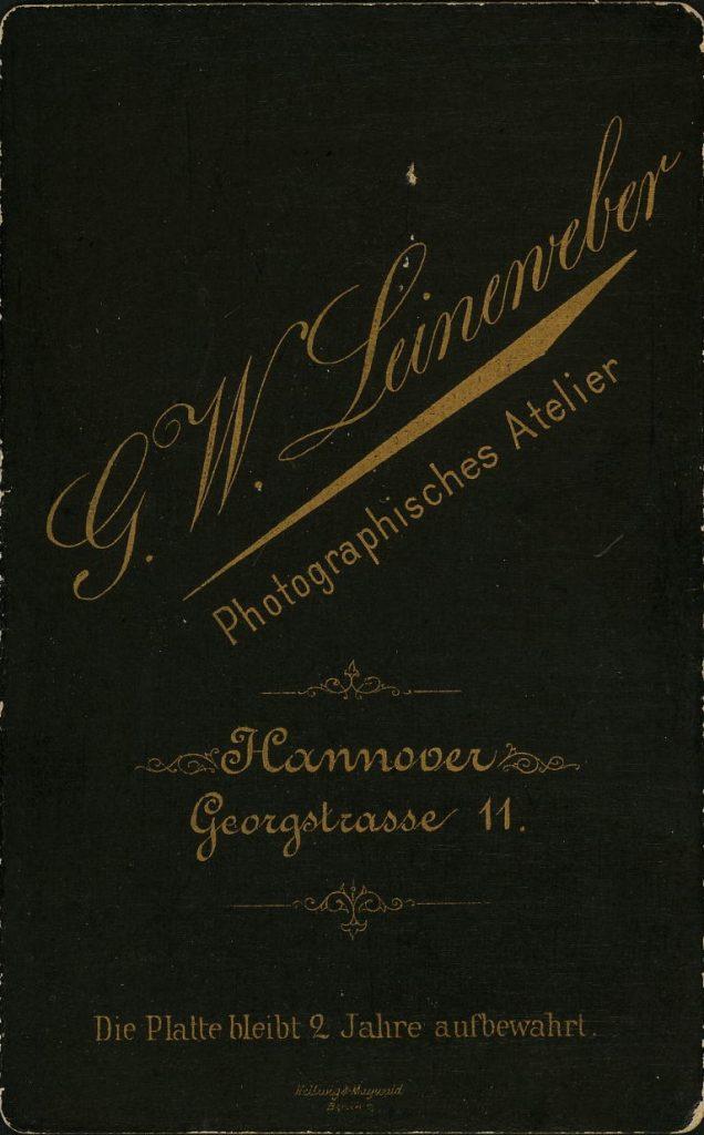 G. W. Leineweber - Hannover