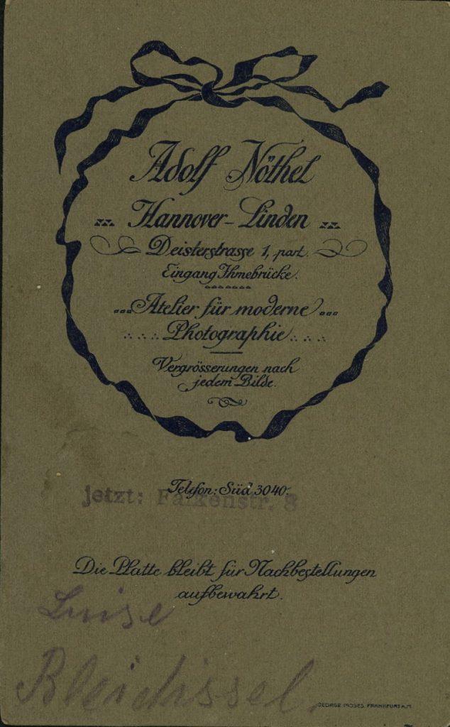 Adolf Nöthel - Linden-Hannover - Hannover