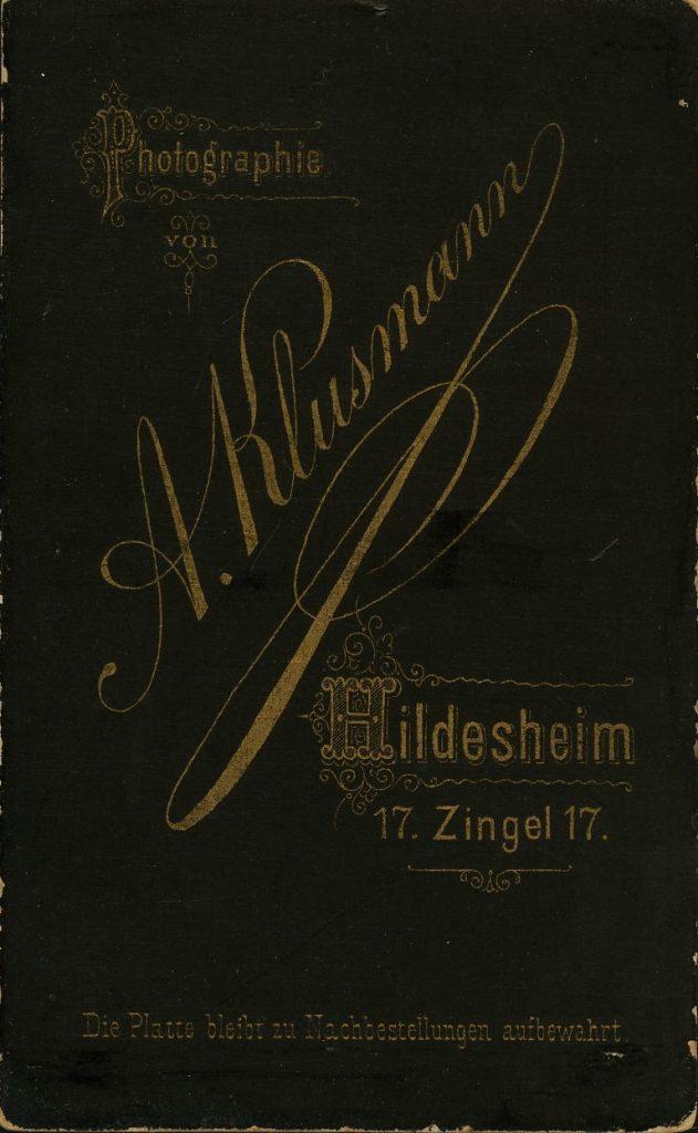 A. Klusmann - Hildesheim