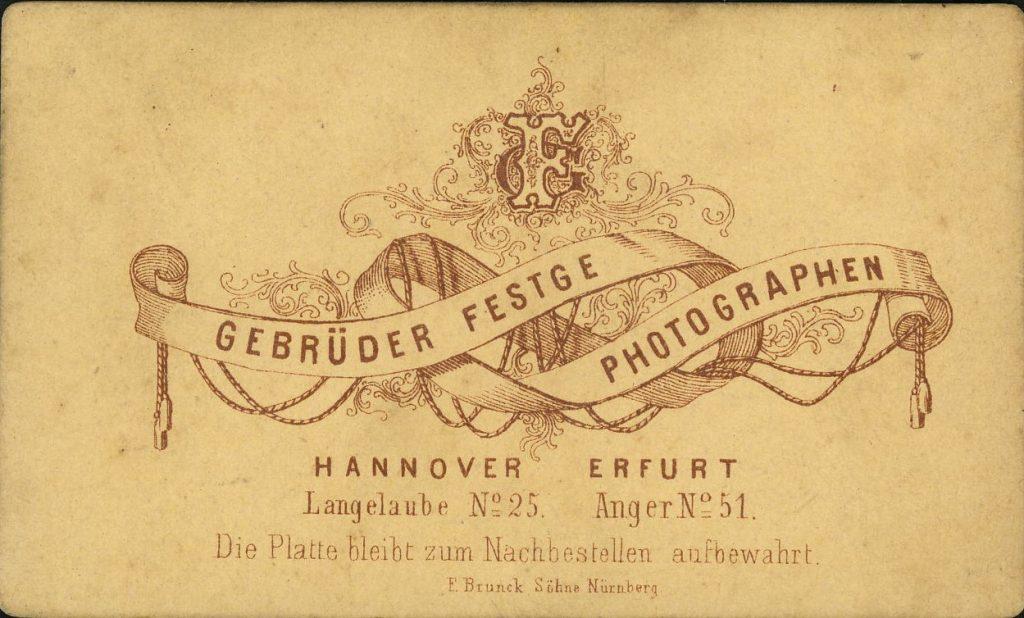 Gebr. Festge - Hannover - Erfurt