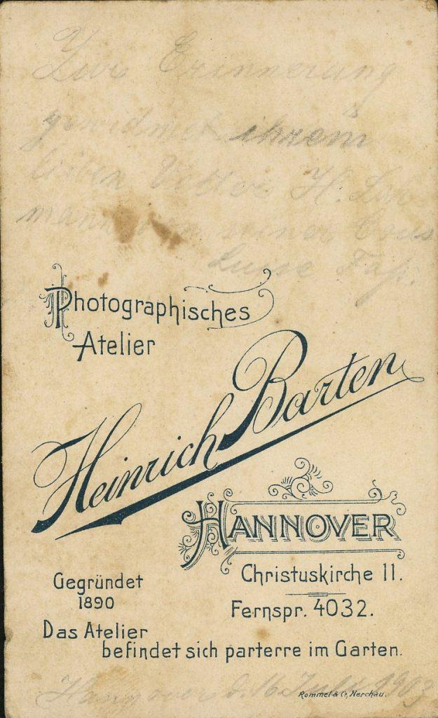 Heinrich Barten - Hannover
