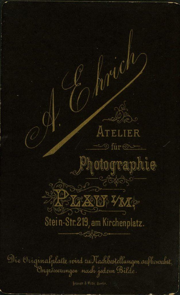A. Ehrich - Plau