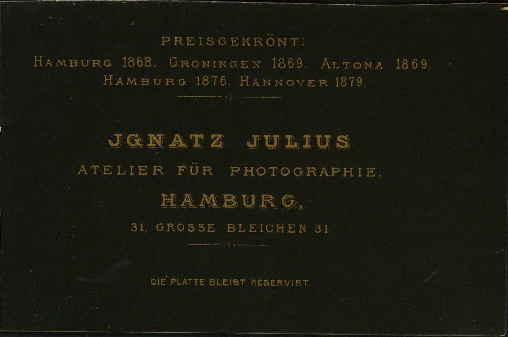 Ignatz Julius - Hamburg