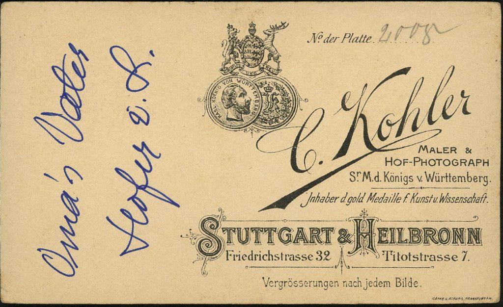 C. Kohler - Stuttgart - Heilbronn